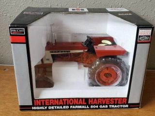Case International Harvester 504 toy tractor