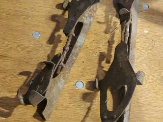 Antique ice skates