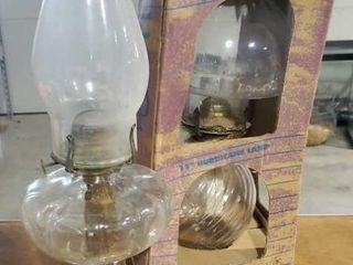 Oil lamps, set of 2