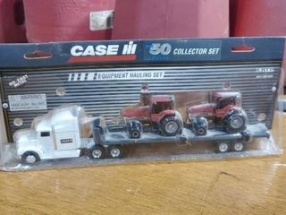 Case IH equipment hauling sets