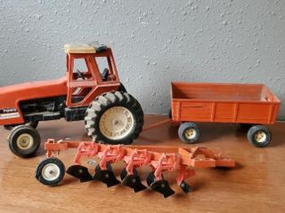 Allis Chalmers 3 piece toy collectible set