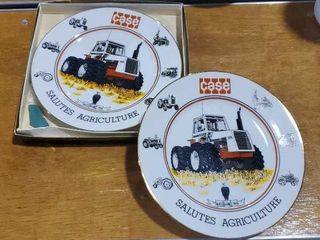 Case Salutes Agriculture collector plates (2)
