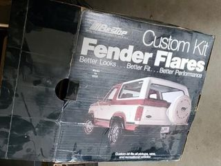 Custom flare kit, fits pick ups, vans,