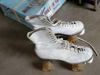 Vintage women's roller skates
