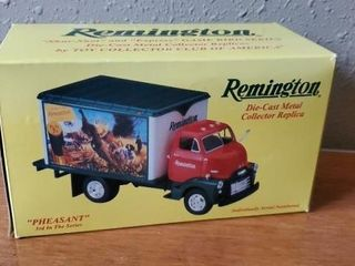 Remington pheasant collectible truck