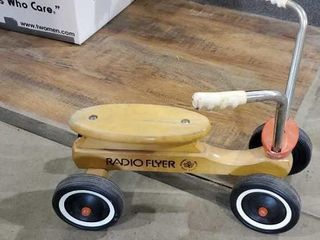 Radio flyer four wheel bicycle