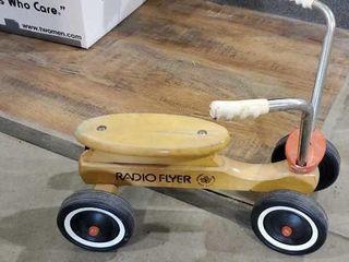 Radio flyer four wheel bicycle