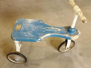 Peter Rabbit vintage tricycle