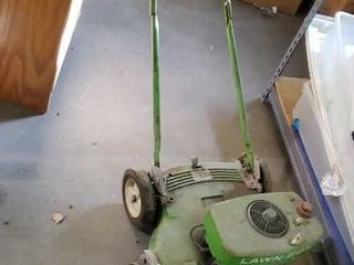 "Lawnboy 21"" gasoline push mower"