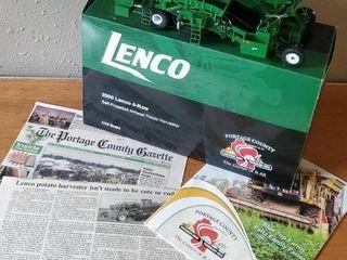 2000 Lenco toy airhead potato harvester
