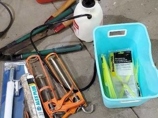 Garden and home improvement, sprayer, fuel can,
