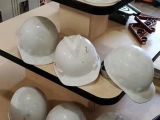 Hard hat, set of 8