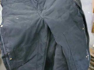 Carhart insulated bibs, set of 4