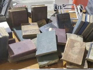 Antique book collection