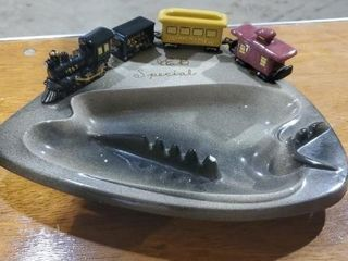 Union Pacific ceramic ashtray
