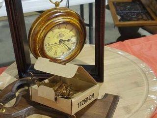 Wooden cutting board, key holder, watch decor