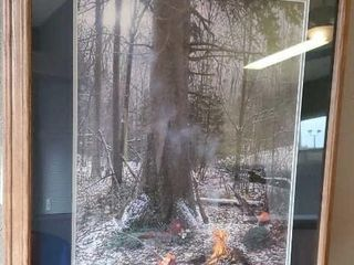 Hunters campfire artwork by Bjorlin