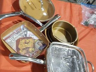 Copper chef cookware collection