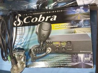 Cobra CB, mount, antenna