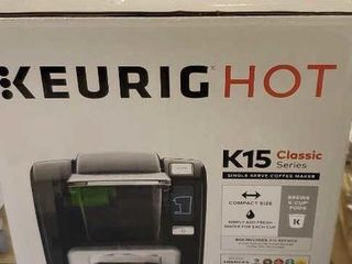Keurig K15 classic coffee maker
