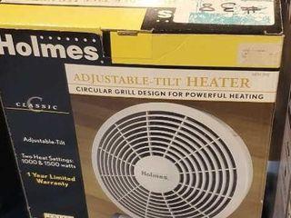 Adjustable tilt heater