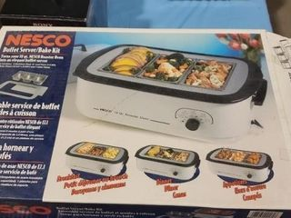 Nesco buffet server/ bake kit