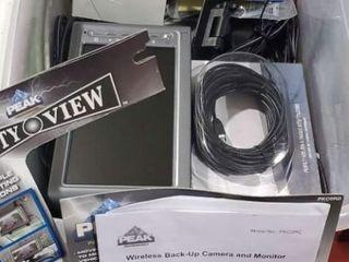 Peak Performance wireless backup camera, monitor