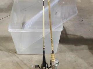 Fishing poles, set of 2