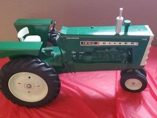 Oliver 1850 Farm Progress Show toy tractor