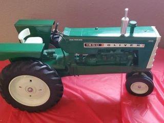 Oliver 1850 Farm Progress Show toy tractor