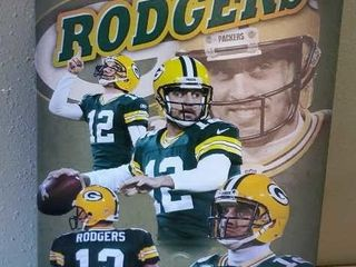 Aaron Rodgers Green Bay Packers artwork