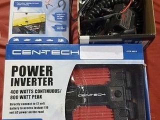 Power inverter 400 W and automatic battery float