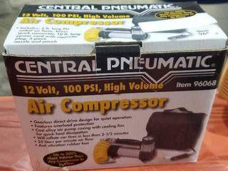 Pneumatic air compressor 12 volt 100 PSI