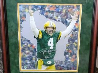 Brett Favre Green Bay Packers Ducks Unlimited art