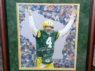 Brett Favre Green Bay Packers Ducks Unlimited art