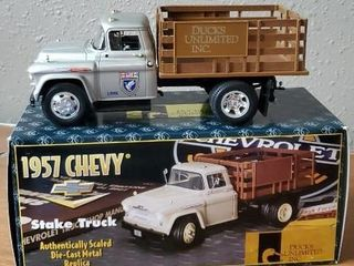1957 Chevy Stake Truck Ducks Unlimited