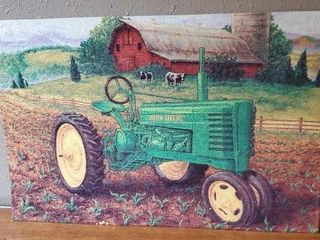 John Deere Old Memories rug