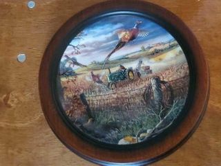 Autumn Harvest by Charles Freitag plate
