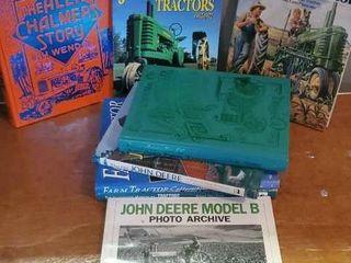 Tractor books, Allis Chalmers, John Deere