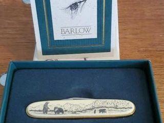 Bear pen knife by Barlow designs