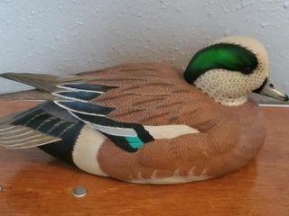 Wigeon Duck Decoy sculpture