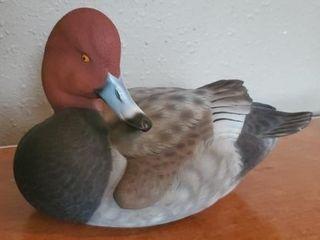 Ducks Unlimited wooden duck sculpture