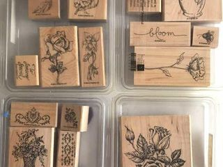 4  Stampin Up Floral Sets