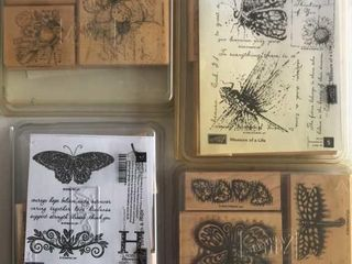 4  Stampin Up Butterly Sets