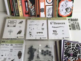 5  Stampin Up Halloween Sets   Cards