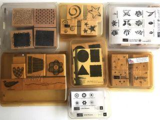 7  Stampin Up Shape Sets