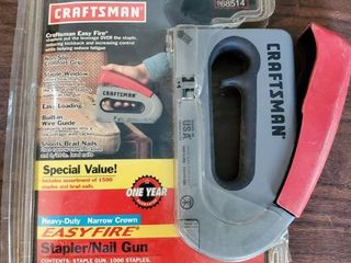 Craftsman  Stapler Nailgun  With Staples