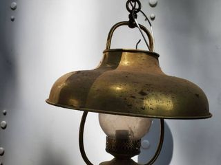 Metal Tin latern Ceiling light