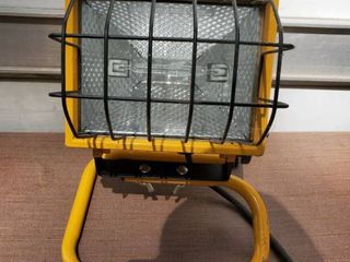 Yellow Work light  Tested and Working