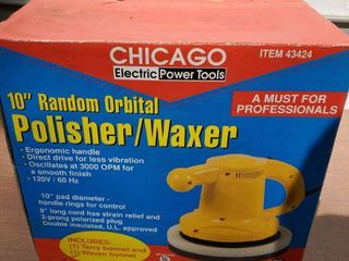 Chicago 10 Inch Polisher and Waxer  Tested and Working